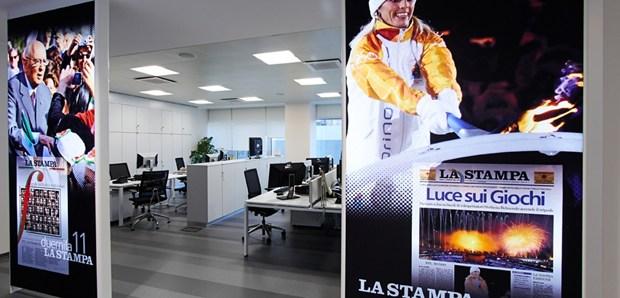 Nuova sede per La Stampa di Torino, Sacea