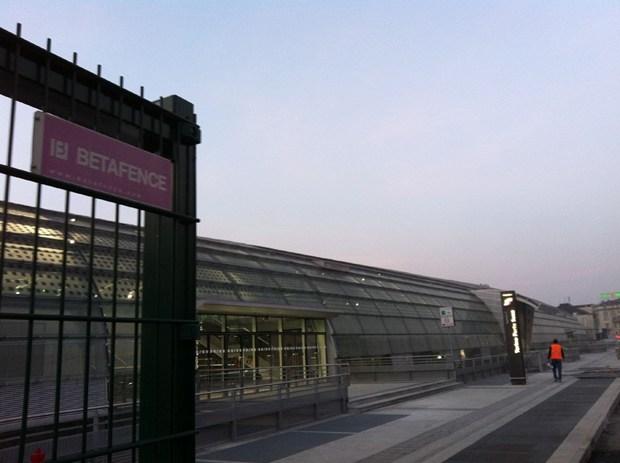Betafence per l'inaugurazione della nuova stazione Torino Porta Susa