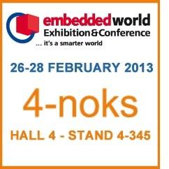 4-Noks per la prima volta a Embedded World 2013