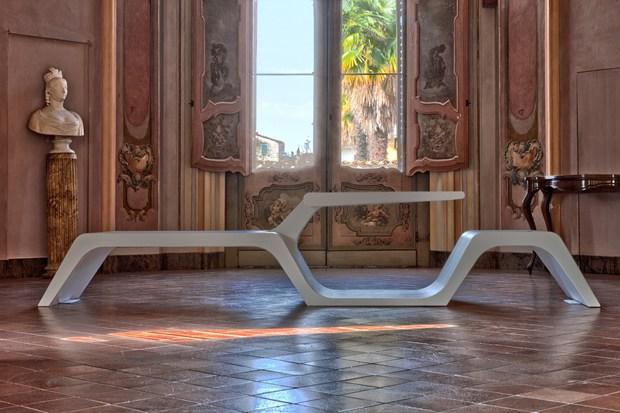 Wi-Bench, la panca realizzata in Corian®