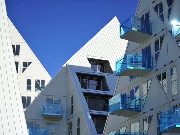 Aarhus: quasi terminato il complesso residenziale Iceberg