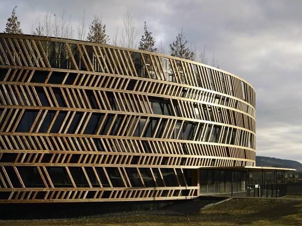 Alise-Sainte-Reine: terminato il primo edificio dell'Alesia Park