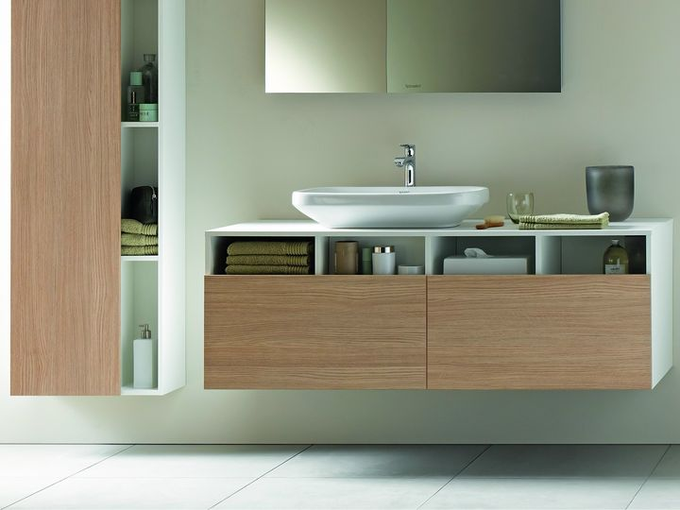 Semplicità formale per l arredo bagno duravit