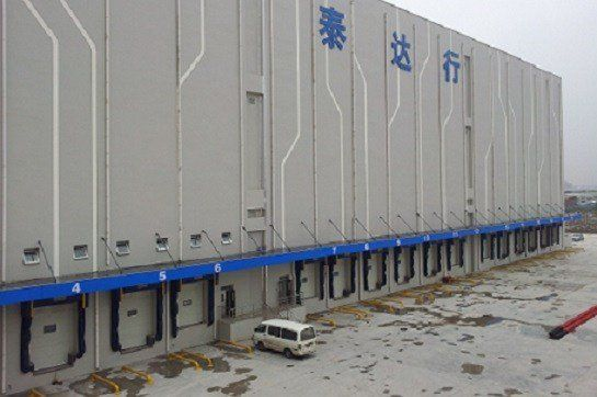 A Tianjin per la Teda Group la tecnologia dei punti di carico Kopron