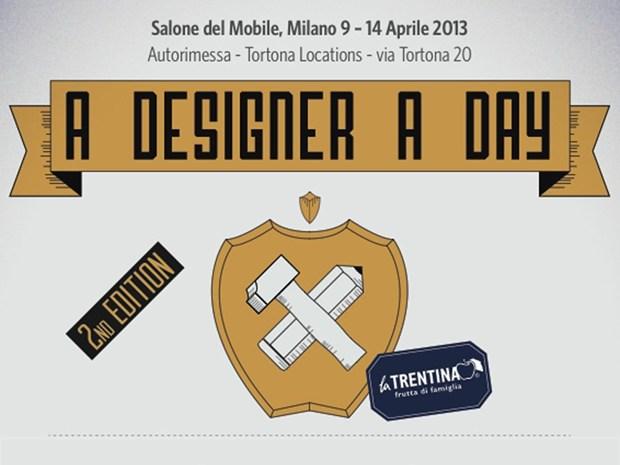 'A Designer a Day': i designer tra artigianato ed autoproduzione