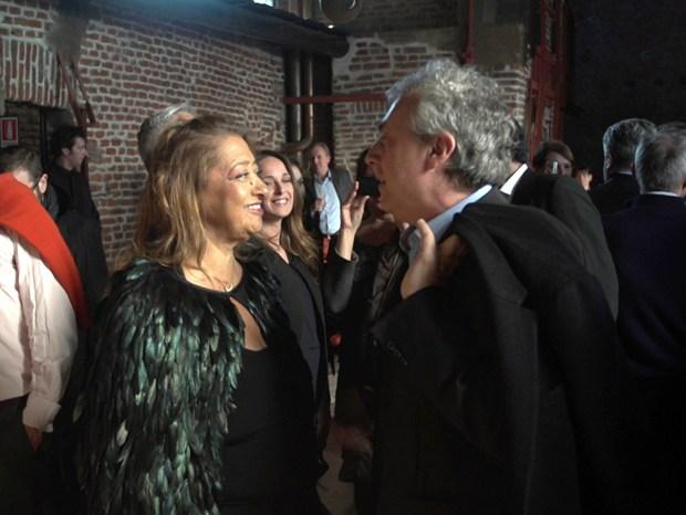 Zaha Hadid in conversazione con Stefano Boeri