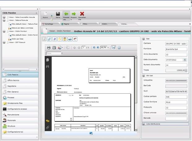 DMS24 di 24 ORE Software per la gestione documentale in edilizia