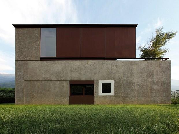 Valtellina: lo studio act romegialli disegna DMB House