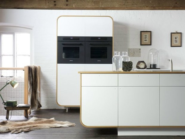 Air Kitchen, la cucina rivestita in HI-MACS®