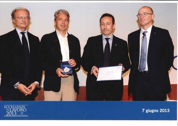 """""""Eccellenze al lavoro 2013"""": Confindustria Bergamo ha premiato l'Export Manager di SCAME"""
