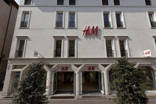 Zephir3 di Clivet per il nuovo Store H&M nel cuore di Brescia