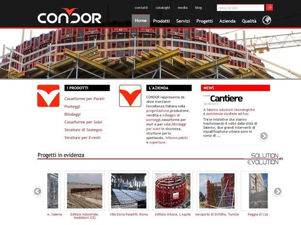 Condor: on line il nuovo sito tutto all'insegna del web 2.0