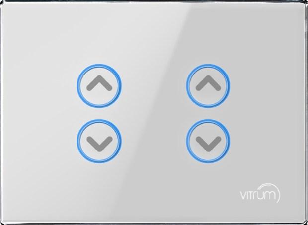 Vitrum, la nuova generazione di interruttori per una domotica semplice ed eco-sostenibile