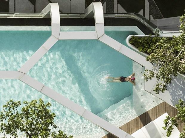 Bangkok: la Pool at Pyne di Trop Design