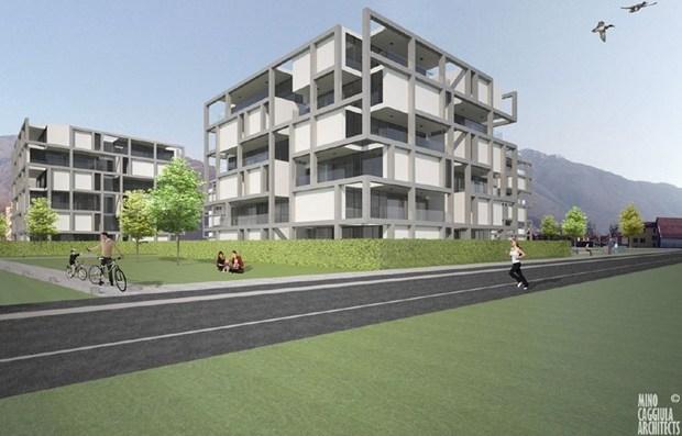 Antoniolupi per il Residence Leche Park a Bellinzona