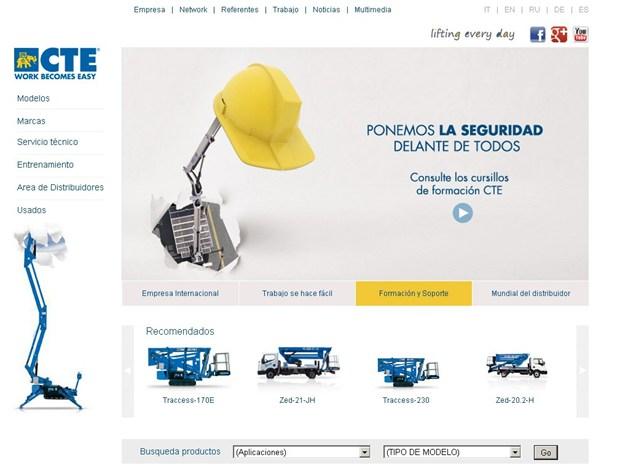 Attivata la versione in lingua spagnola del sito web di CTE
