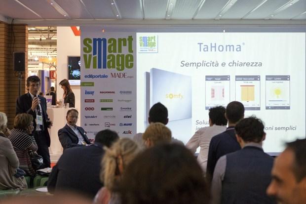 Somfy protagonista al Made Expo con TaHoma, il rivoluzionario sistema di domotica