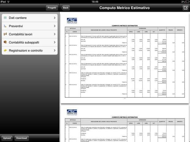 La nuova APP 24 ORE Software che permette di rilevare i dati di cantiere con il proprio tablet