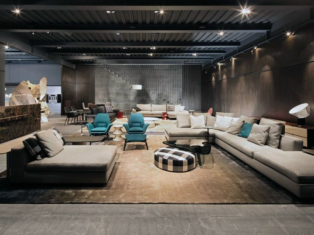 Apre il nuovo showroom Minotti Mexico City