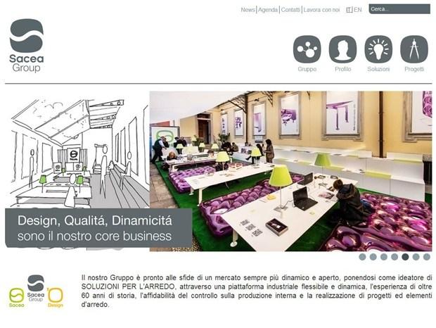 On line il sito rinnovato di Sacea Group