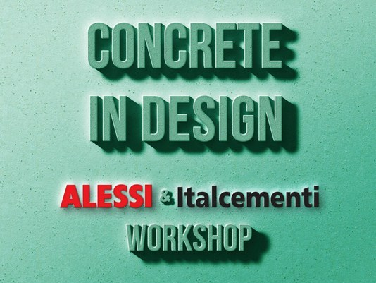 Al via #Concrete In Design