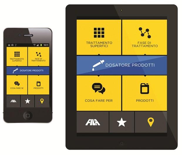 Tutte le soluzioni Fila direttamente sullo smartphone con la nuova app