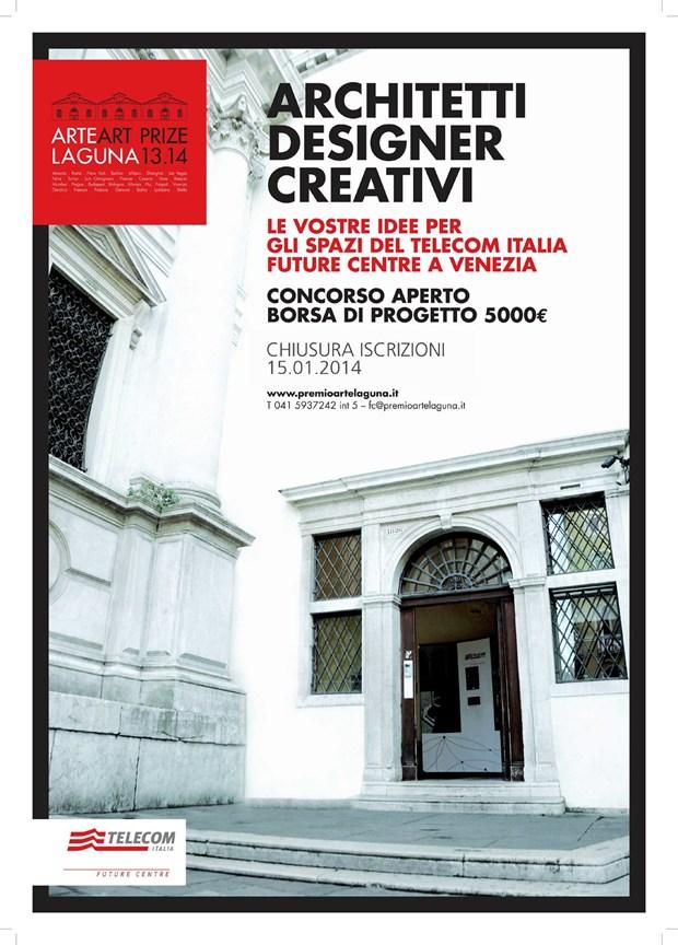 Al via il concorso Premio Arte Laguna e Telecom Italia