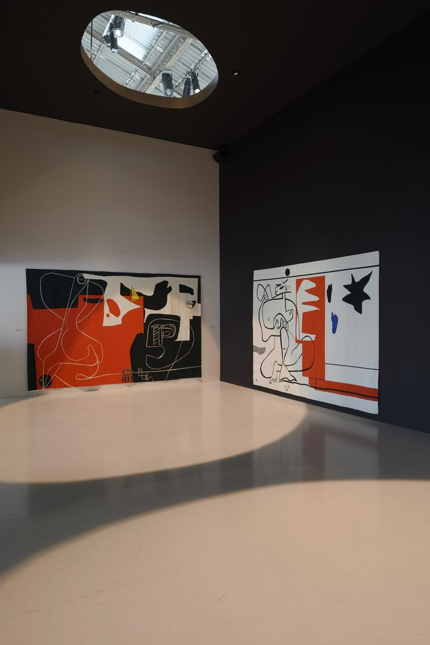 © Olivier Amsellem © Vue de l'exposition Le Corbusier et La question du brutalisme FLC/ADAGP 2013