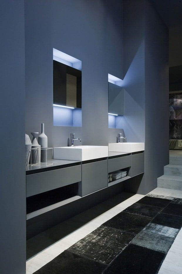 Antoniolupi presenta Panta Rei XL, design Carlo Colombo