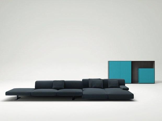 Divano e mobili di Francesco Rota per Paola Lenti