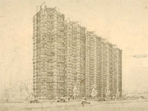 """Frank Lloyd Wright and the City: Density vs. Dispersal"""