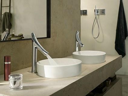 Axor Hansgrohe produce il primo miscelatore che consuma solo 3,5 lt d'acqua al minuto