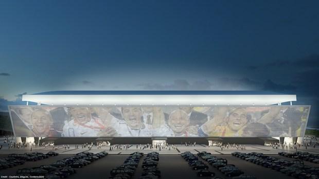 AGC protagonista a FIFA World Cup 2014™ con la fornitura per il nuovo stadio Arena Corinthians