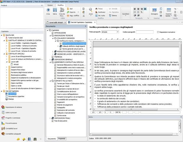 Progetti e Commesse in regola con i software STR