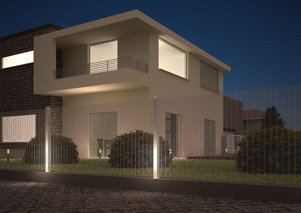 Betafence presenta B-Lux, il palo per recinzione con illuminazione integrata