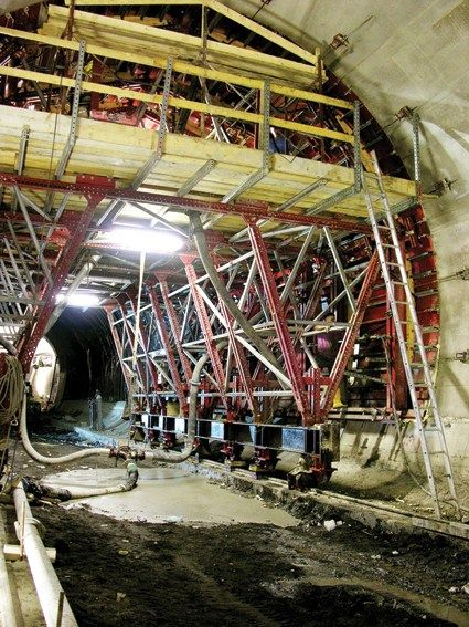 MECCANO Tunnel (Metro C, Roma - Italia)