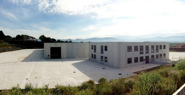 Centro Logistico Fiano Romano in costruzione