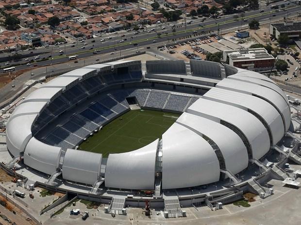 Brasile: gli stadi dei Mondiali di Calcio 2014