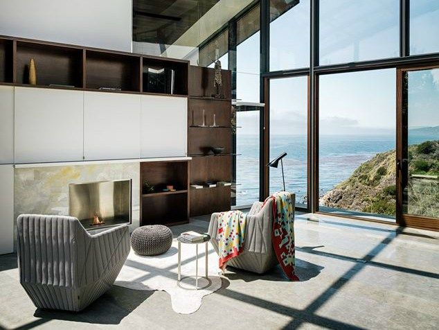 Big Sur, California: la Fall House di Fougeron Architecture