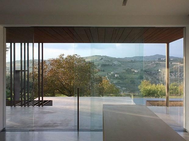 A Cianciana (AG) la Villa B&D di Cottone+Indelicato
