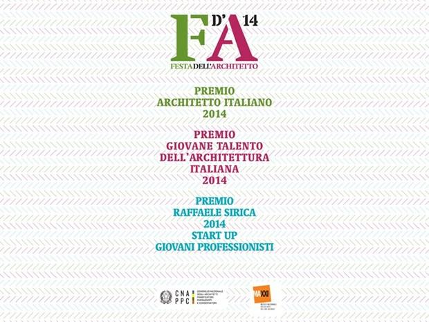 Architetti, al via i Premi 2014 del CNAPPC