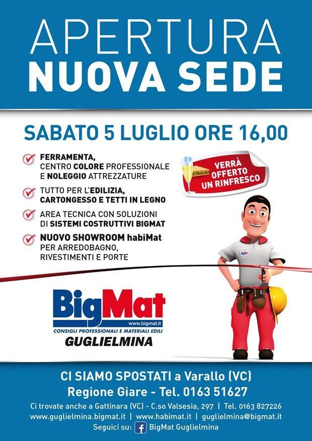 BigMat Guglielmina inaugura il suo nuovo Punto Vendita a Varallo