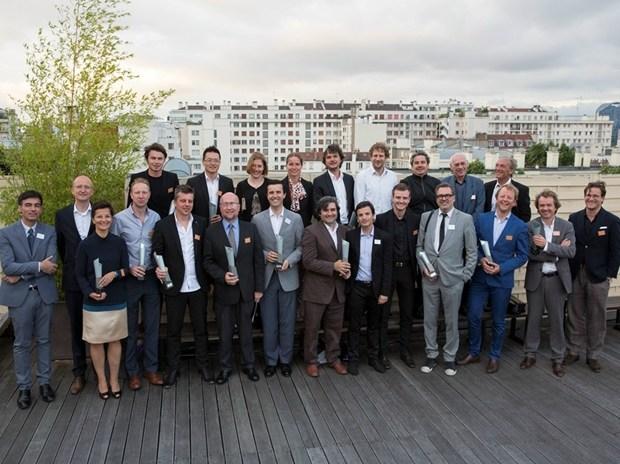I vincitori della VI edizione del Trophée Archizinc