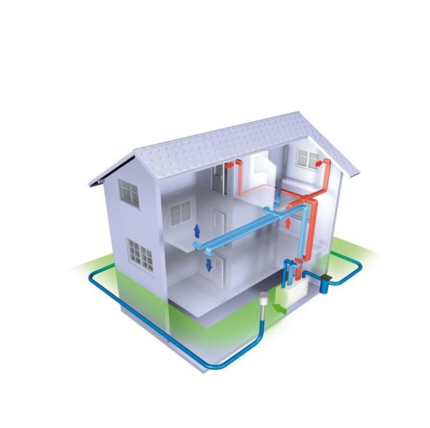 Awadukt Thermo di Rehau: la combinazione perfetta per i sistemi di ventilazione meccanica controllata