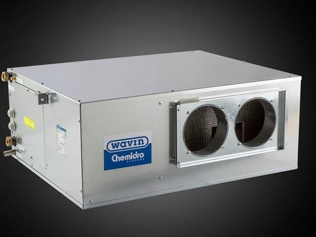 Wavin presenta il nuovo deumidificatore e recuperatore Chemidro Deuklima SCRAE300-RKAE300
