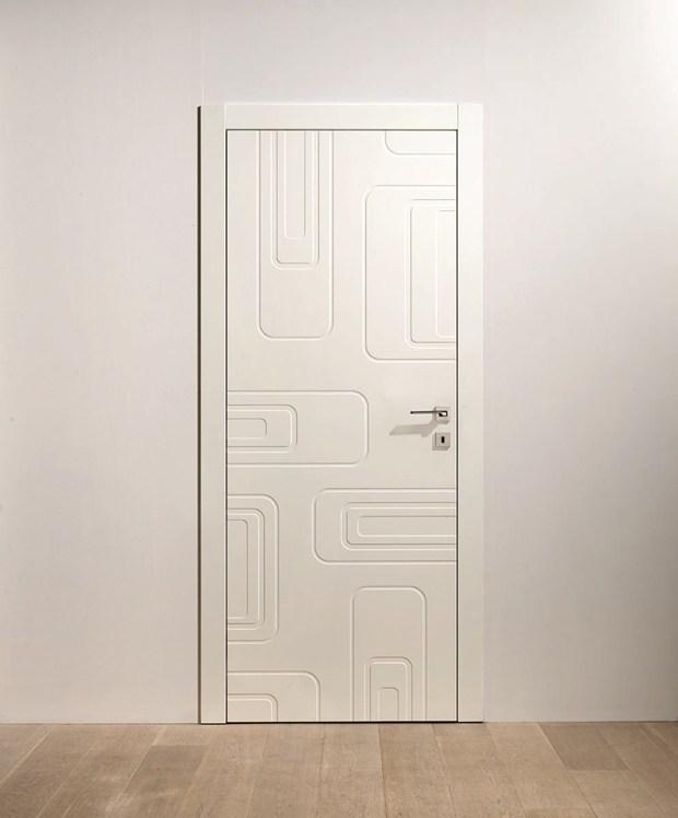 La Nuova Porta Laccata Bianca di Barausse