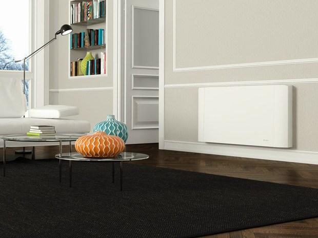 Bi2 Smart: ventilradiatore® total flat con pannello radiante di Olimpia Splendid