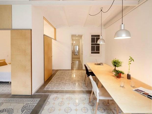 Barcellona: come ottenere spazi più grandi e luminosi in 70 mq