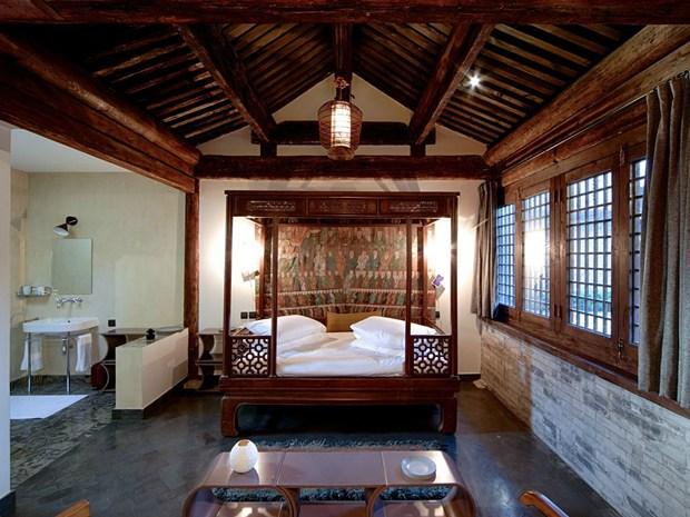 Un tempio buddista della Dinastia Qing convertito in albergo di lusso