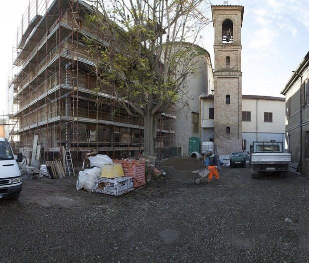 Aeropan di Ama Composites per il recupero di un edificio residenziale nel centro storico di Forlì
